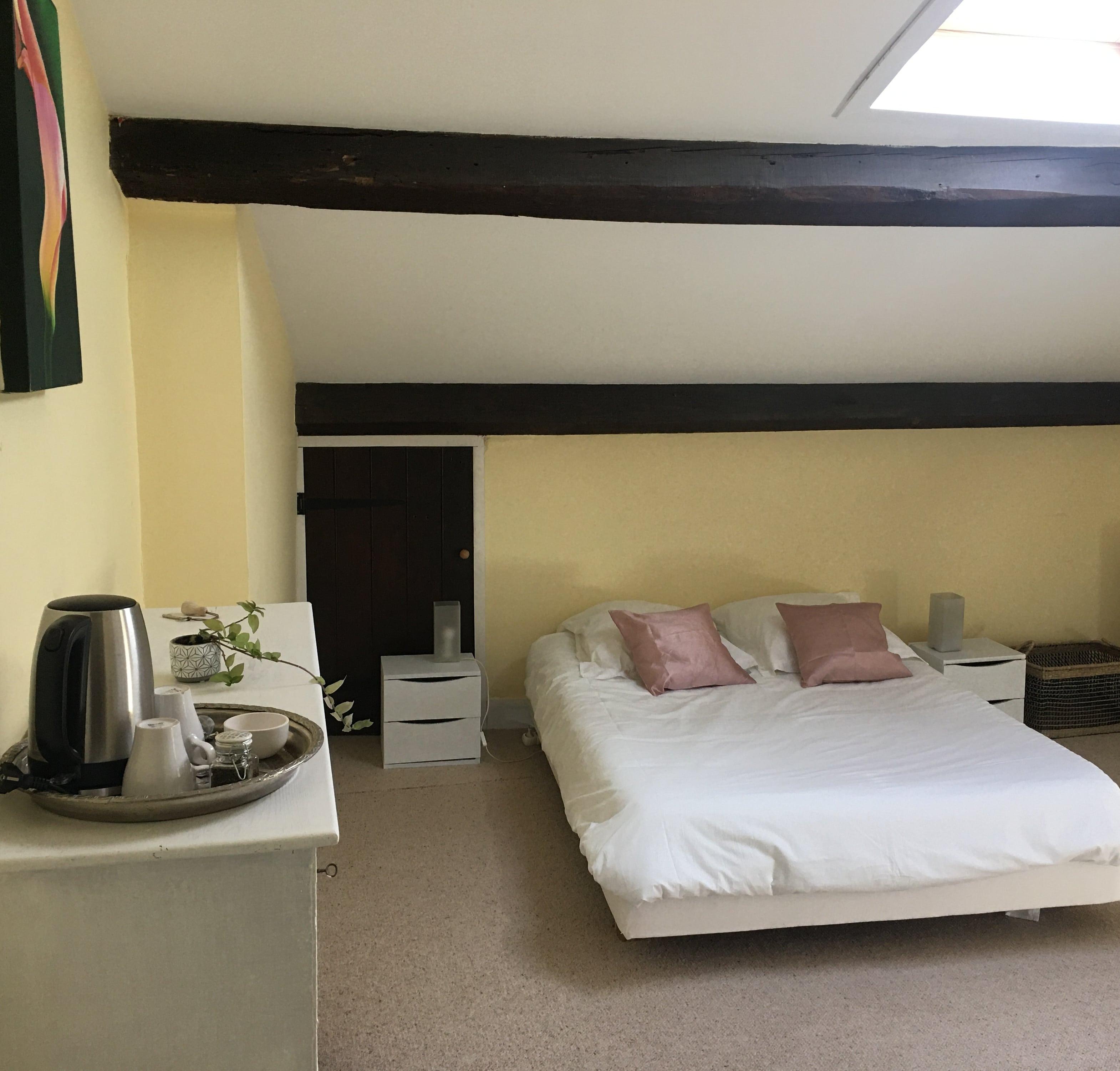 Chambre dortoir pèlerins 2 : lit individuel ou double